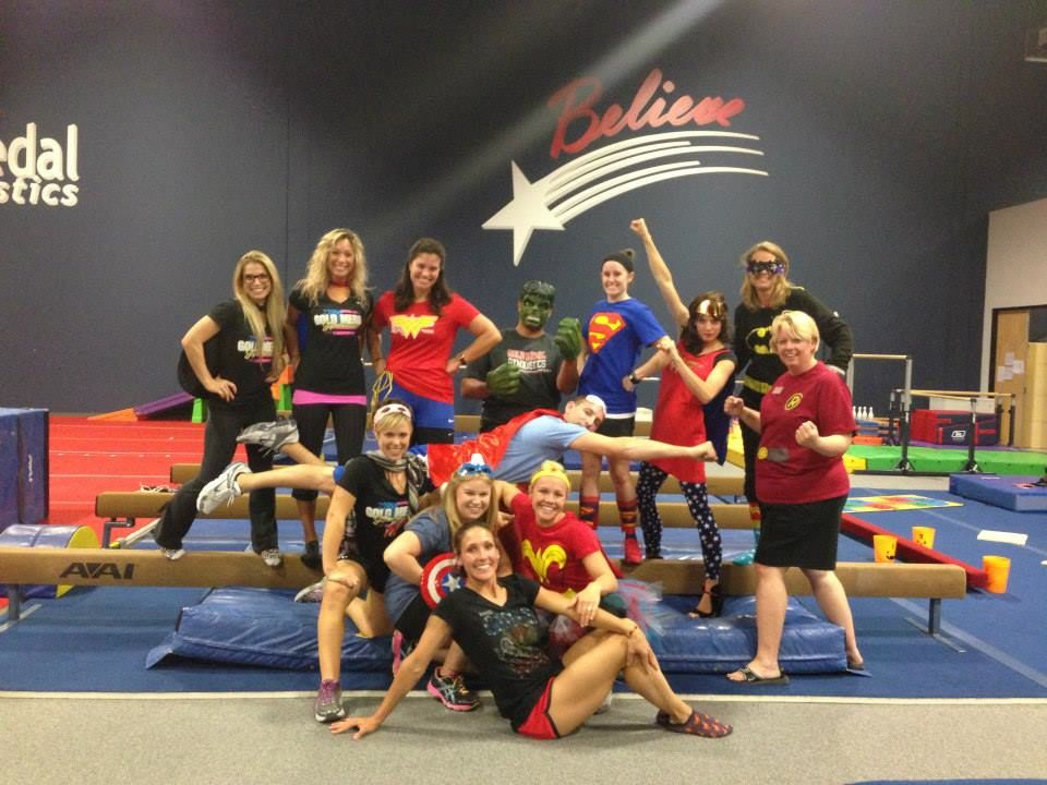 Gold Medal Gymnastics | Camps & Special Events Gallery